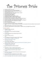 english teaching worksheets the princess bride english worksheets the princess bride moving and learning part2