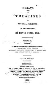 essays and treatises on several subjects david hume  essays and treatises on several subjects