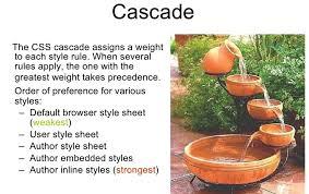 cascade style sheet webprogrammierung vorlesung 2