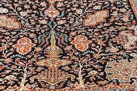 how to clean silk carpets and rugs
