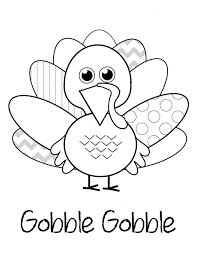 Wild turkeys love to forage on the forest. Turkey Coloring Picture Cute Thanksgiving Page Clip Art Happy Water Baseball For Adults Golfrealestateonline
