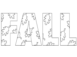 Fall Coloring Pages To Print Topltk