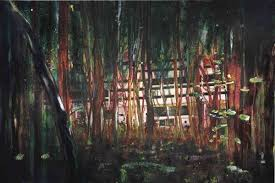 ... this is a contemporary landscape oil painting ...