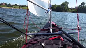 kayak homemade sail rig