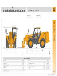 Jcb 509 42 Load Chart Telehandlers Jcb Specifications Cranemarket