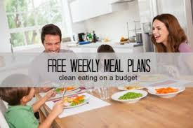 weekly meal plans on a budget