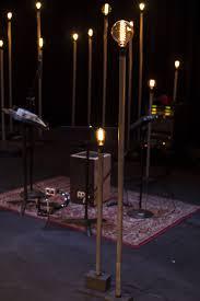 Edison Light Stand Edison Bulbs On Stands Church Stage Design Christmas