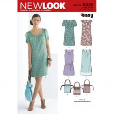 New Look Patterns Classy New Look 48 Women's Dress Bag Sewing Pattern