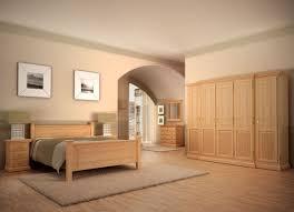Schlafzimmer Set Duett Doppelbett Kleiderschrank Nachtkonsolen Pinie