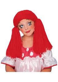 s rag doll wig