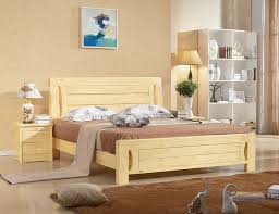 modern wood bedroom furniture. Pine Wood Bed Modern Furniture Ideas Bedroom F