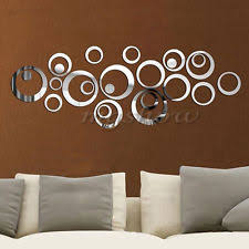 small round mirror wall art ideas brown wooden stickers diy pieces round vinyl removable personalized on mirror wall art ideas diy with wall art designs small round mirror wall art decor ideas clock