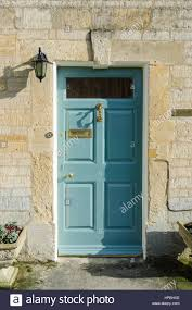 Light Blue Front Door Traditional Light Blue Wooden Front Door In Stow On The Wold