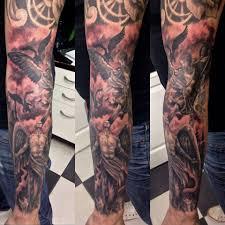 Tetování Andělský Rukáv Tetování Tattoo