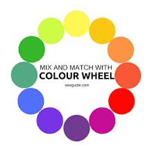 Color Wheel Chart Combinations Fashion Colour Wheel 15 Colour Combinations For Clothes