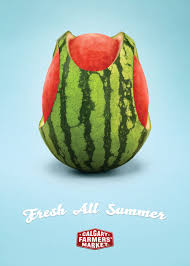 print ad templates calgary farmers market print advert by wax watermelon ads of the