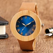 popular blue face watch buy cheap blue face watch lots from 100% natural wood handmade wrist watch unique blue big face design quartz watch genuine