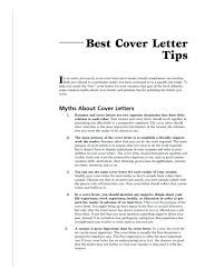 A Good Cover Letter Example Tips For Cover Letter Nursing Good
