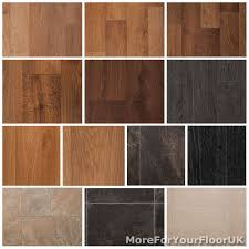 Quality Vinyl Flooring Roll CHEAP, Wood Or Tile Effect Kitchen Bathroom  Lino 3m