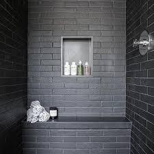 white brick shower tiles design ideas
