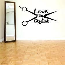 for wall decor astonishing ideas hair salon wall decor barber surprising cafe wall