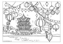 Small Picture Chinese New Year Colouring Pages