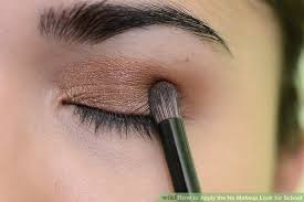 image led apply the no makeup look for step 5bullet3
