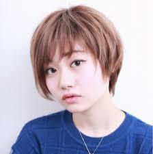 丸顔を生かしたヘアスタイルレングス別でみつけよう Hair