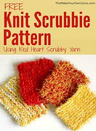 Scrubby Yarn Knit Patterns