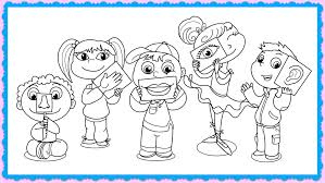 Interesting Inspiration Five Senses Coloring Pages Free 5 Page