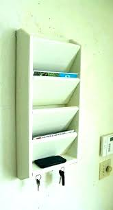 wall mounted letter rack