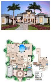 Home Golf Course Design Beach House Plan Caribbean Style Golf Course Home Floor