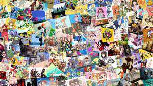 Anime Collage Wallpaper 2880x1620