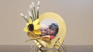 diy photo frame from old cd s diy crafts