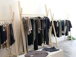 boutique clothing rack ideas nifty about remodel creative home decor arrangement with racks81