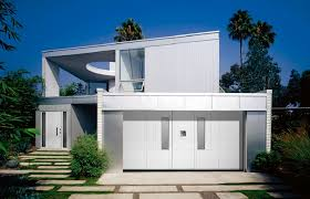 modern white garage door. How To Choose A Garage Door Which Complements Your House\u0027s Design Picture Modern White D
