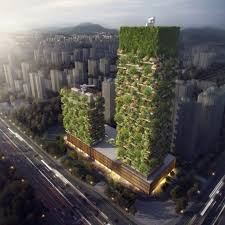 the n green towers