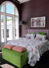 Purple and Green: The color combination of green and purple looks awesome  together. I