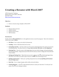 Making A Resume On Word Best Of Making Resume Resume Templates