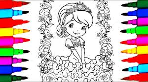 Coloring Book Strawberry Shortcake Princess Strawberrita Coloring
