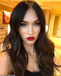 y star megan fox sure likes to play dress up now and then on