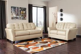 cream leather sofa and loveseat conceptstructuresllc charming genuine furniture couch armchair mid century credenza small chair