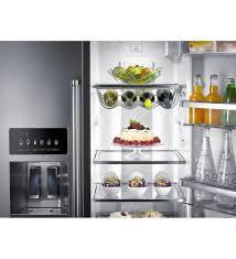 kitchenaid 22 6 cu ft counter depth side by side refrigerator