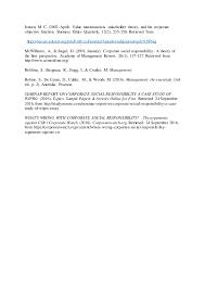 corporate social responsibility essay 6