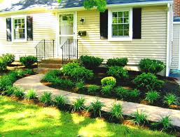 Small Picture Good Looking Garden Design Front Of House Front Yard Landscape For