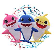 (Ready Stock)Baby <b>Shark</b> Stuff Plush Soft toys Anak Patung <b>Stuffed</b> ...