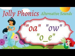 Ruled lines, short vowel sounds, consonant digraphs, and words to copy. Jolly Phonics Alternative Sounds Oa Ow O E Jolly Phonics Phonics Jolly