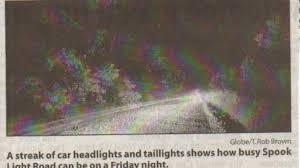 The Spook Light In Joplin Missouri The Devils Promenade Inside The Rural American Town