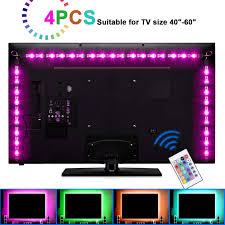 Sunnest Tv Backlight Light Kit 6 56ft 2m 5v Usb Led Lights