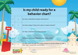 Discipline Chart For 3 Year Old Five Top Tips On When To Start Using Behavior Charts